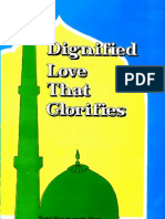 Dignified Love That Glorifies
