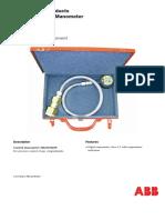 1HC0005286 SF6 Gas Control Manometer