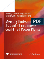 Mercury Emission and Its Control in Chinese Coal-Fired Power Plants (2013)