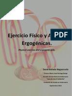 Ejercicio Fisico y Ayudas Ergogenicas