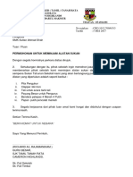 Surat Permohonan Peralatan