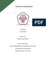 Referat Penurunan Kesadaran - Michiell.docx