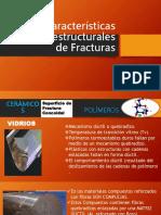 Características Microestructurales de Fracturas