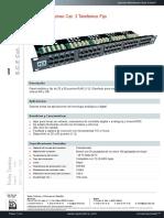 p930 Openetics Panel Parcheo Cat 3 Telefonico Fijo