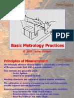 Basic Metrology Practices TAYLOR HOBSON