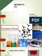 Sintesis de Acido Nitrico , Amoniaco (Original)