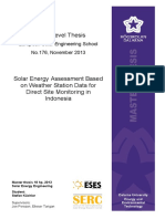 Solar Energy Assessment Based on Weather Station Data for Direct Site Monitoring in Indonesia.pdf