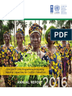 Joint UNDP-DPA Programme on Building National Capacities for Conflict Prevention Annual Report 2016