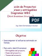 4. Diagramas WBS