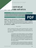 Tce - Minas Gerais - Reajuste Contratual Sem Previsao Editalícia Ou Contratual