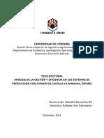 Analisis de Eficiencia 2014