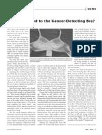 Cancer Detecting Bra