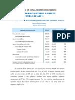 Analisis de Variales Macroeconomicas