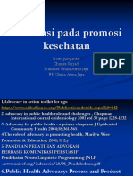 Advokasi pada promosi kesehatan slide utk mhs (ok).ppt