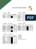 Tabla de Posiciones ABI 2010