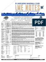 6.18.17 at MOB Game Notes