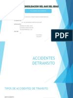 ACCIDENTES DETRANSITO