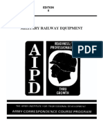 US Army Railroad Course - Military Railway Equipment TR0660
