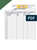Registro de Inventarios Catalogo
