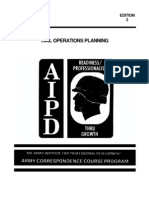 US Army Railroad Course - Rail Operations Planning TR0603