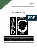 US Army Railroad Course - Rail Operations, Yard TR0636