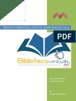 Proyecto Biblioteca Virtual Mario Molina Tala