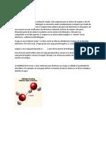 La Química Del Agua, Propiedades y Reacciones Quimicas.