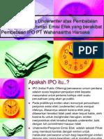 Kasus PT Wahanaartha