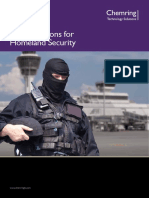 EOD Solutions for Homeland Security