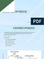 Crioprecipitados