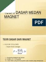Teori Dasar Medan Magnet