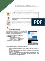 Manual de la pizarra PDI MULTICLASS BOARD V.6.0.