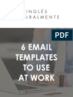 6 Email Templates to Use at Work