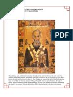 45 - Saint Nicholas the Wonder Worker, Archbishop of Myra in Lycia