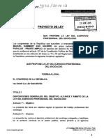 proyecto de ley del ejercicio   profesional sociologo.pdf