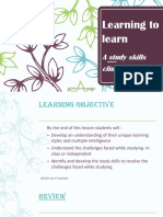 learn how to learn better 2