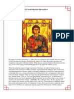 21 - The Holy Great Martyr Saint Procopius