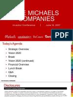 MIK Michaels 2017 Investor Day