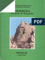 Pedriza Escuela de Escalada - Penthatlon Ediciones (1987)1