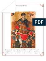 33 - The Holy Great-Martyr Demetrius