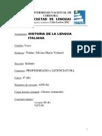 Historia de La Lengua