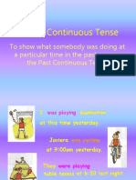 Past Continuous Ppt