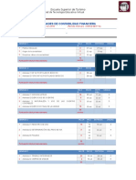 Agenda de Actividades de Contabilidad Financiera