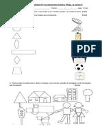Evaluación Acumulativa Matematicas Figuras