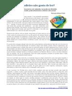 PRODUÇÃO TEXTUAL - Brasileiro Nao Gosta de Ler-1