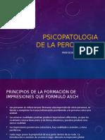 3 Psicopatologia de La Percepcion