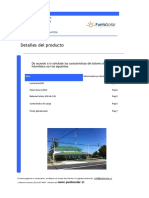 Ficha Tecnica Postes Solares Fotovoltaicos 40W EVO Informacion General Poste Solar Zona Norte Centro Sur...