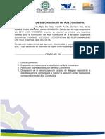 Convocatoria Acta Constitutiva GARY