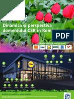Studiu Dinamica si Perspectiva domeniului CSR in Romania, realizat de CSRmedia.ro si Valoria 2017