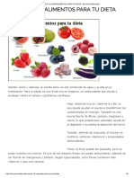 Los 10 Superalimentos Para Tu Dieta - Barcelona Alternativa